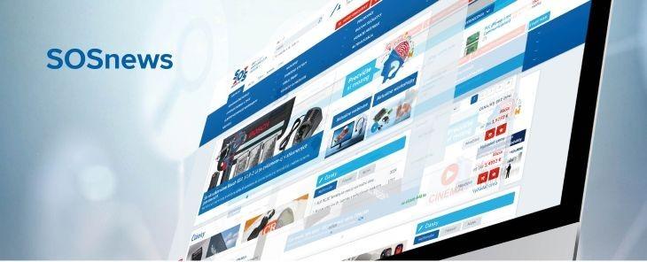 Az SOSnews új kiadása a weben