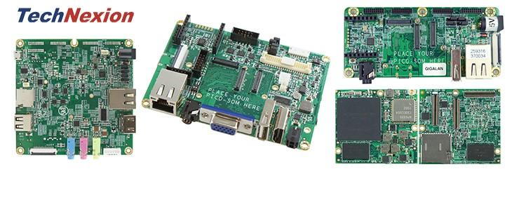 TechNexion Pico rendszer a modulokon