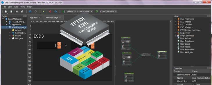 Grafikus HMI tervezés egyszerűen? Az ESD 3.x megoldja!